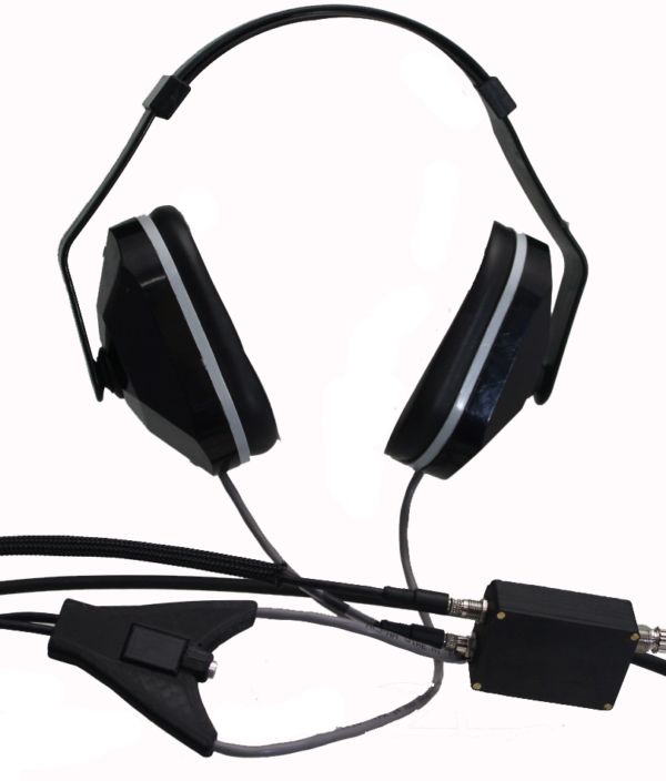 MRI Stereo Noise Reduction Headset