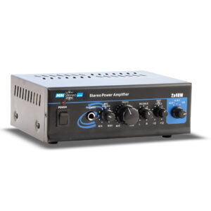 MRI Audio System True Stereo Amplifier